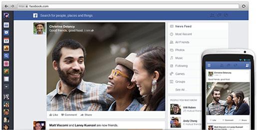 Facebook yeni arayüz