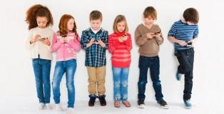 çocukların akıllı telefon kullanımı