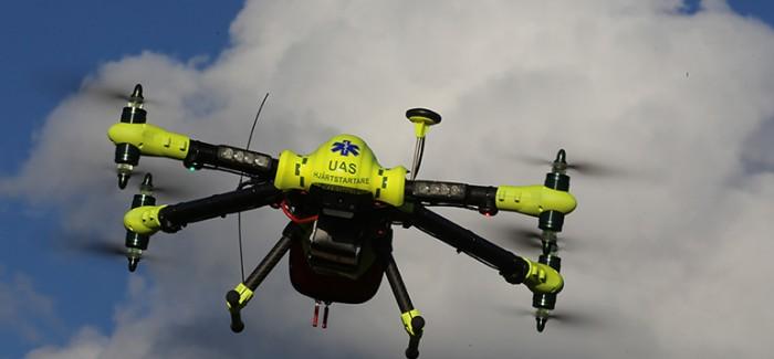 Drone'un Ambulanstan Daha Hızlı Yardım Götürebildiği Kanıtlandı