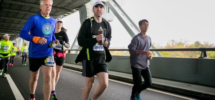 Görme Engelli Bir Kişi New York Maratonu'nu Mobil Teknoloji Kullanarak Tamamladı