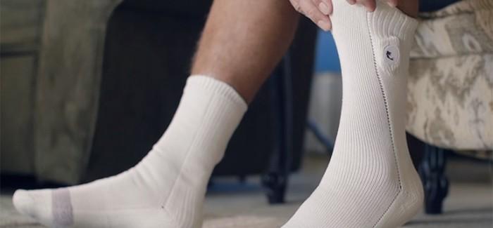 Akıllı Çoraplar Diyabetli Hastalarda Ayak Yaralarını Önleyecek