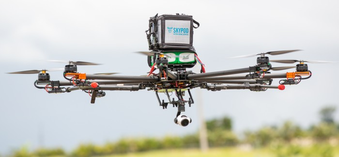 MSD ve Ortakları Tarafından Geliştirilen Drone, Doğal Afet Bölgelerine İlaç Taşıyacak